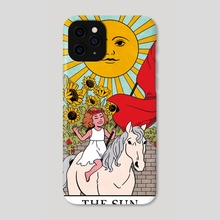 The Sun - The Modern Witch Tarot - Phone Case by Lisa Sterle