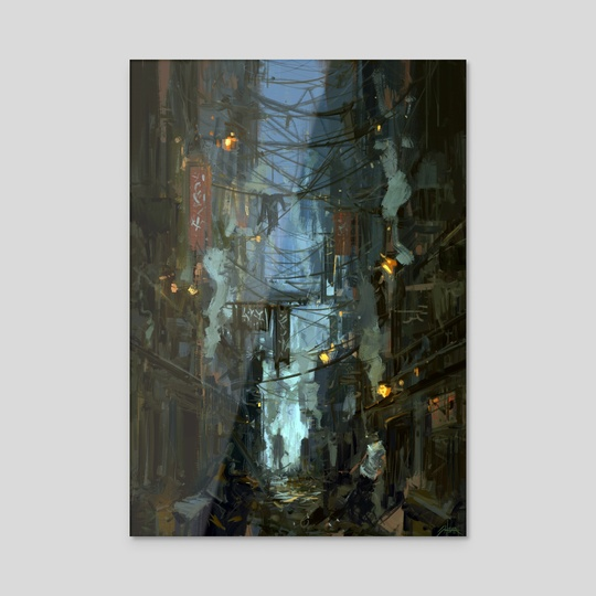 Kowloon Walled City by Jared Shear