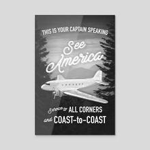 See America Flight - Acrylic by John Morris