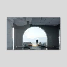 QUIET PLACE pt5 - Acrylic by Davit Jilavyan
