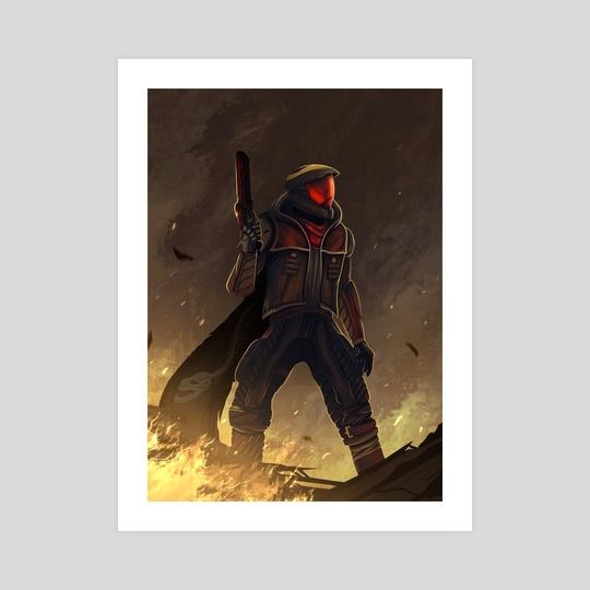 Gunslinger Hunter by Ali Qaiser