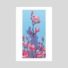 Magnolia - Art Print by Tesslyn Bergin
