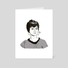 Lt. Uhura - Art Card by Alexandra Beguez