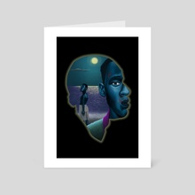 Moonlight Movie Poster - Art Card by Keviette Minor