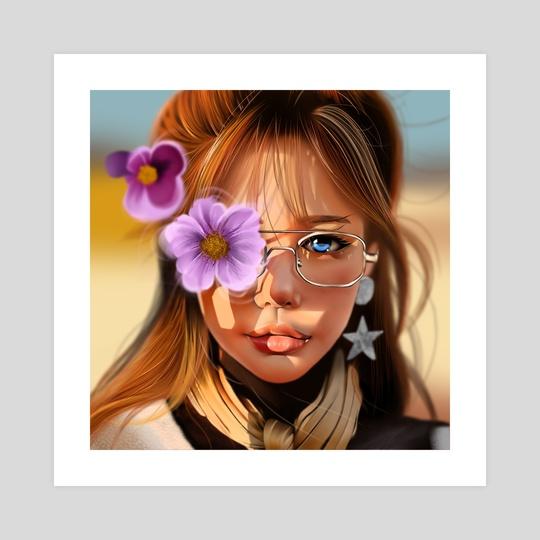 Flower Power by Hao Wang