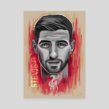 Steven Gerrard - Canvas by rory taylor