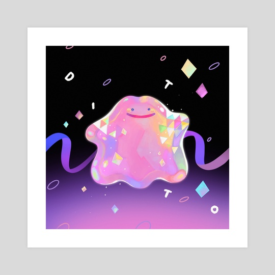 Fancy Ditto Ver 1 by Gummy Illustration
