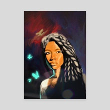 Butterfly  - Canvas by Musoka  Benjamin