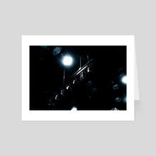 show time 04 - Art Card by noir blanc777