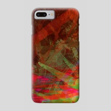 Jagged Thought - Phone Case by LS Drake