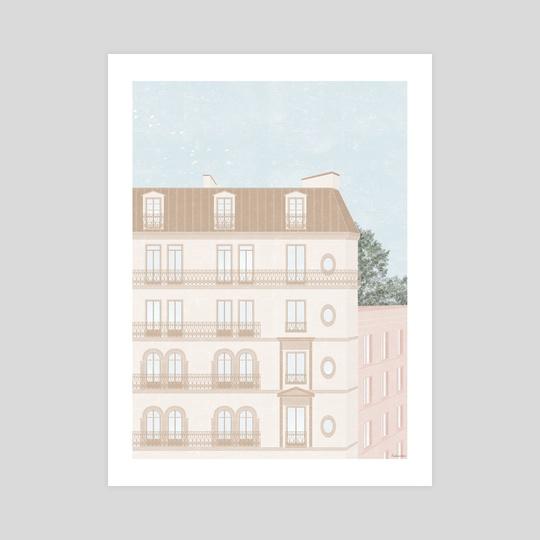 Parisian Architecture by Sophie Archart