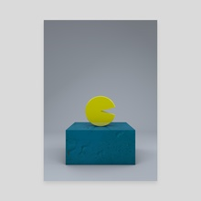 Pac - Canvas by Selçuk Güçer