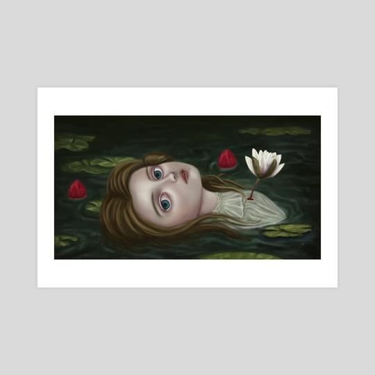 Lily Pond by Eda Herz