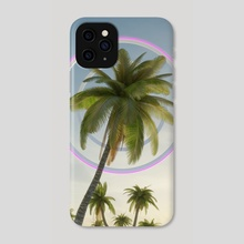 Synthpalms - Phone Case by Vedran Tandara