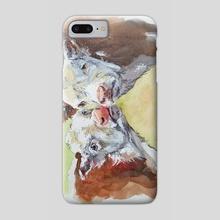 Lazy Kiss - Phone Case by Gabriella DeLamater