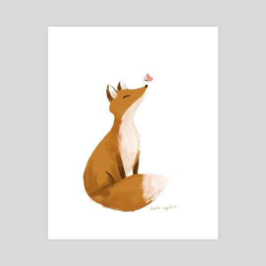 spring fox by Lara Apollo