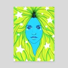 The Liberation of Kesha - Canvas by Sami Cappa