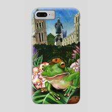 Syracuse Frog - Phone Case by Dan Blaushild