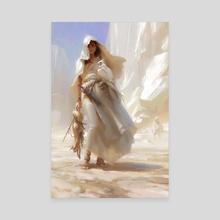 Huntress - Canvas by Lane Brown