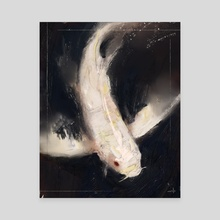 Spirit Fish - Canvas by Allison Gloe