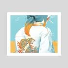 S.U.G.A.R. - Bubbles - Art Print by Enid