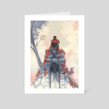 Kings of Yore - Art Card by Ver