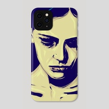 Anxiety - Phone Case by Giuseppe Cristiano