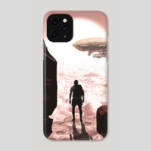 THE SIGHT - Phone Case by Archie Andarski