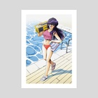 'Summer Mirage' Madoka Ayukawa #3 - Art Print by Jose Salot