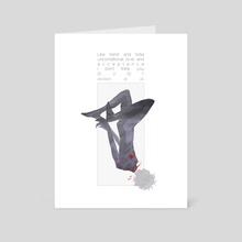 Evangelion Tragedy Series: Kaworu - Art Card by Joanna Estep