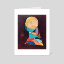 The Virgin Ichthys - Art Card by Igor Ponochevny