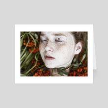 Ladybug - Art Card by Alexandra Bochkareva