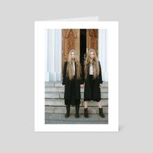 THE SISTERS 4 - Art Card by Sergey Lisitsa