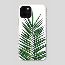 Green Leaf - Phone Case by Nika Akin