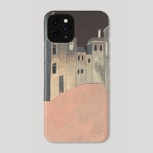 Amsterdam by Night - Phone Case by janneke ipenburg
