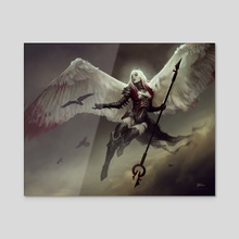 AVACYN / Magic: the Gathering - Acrylic by Bastien Lecouffe Deharme