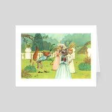 The Garden - Art Card by Victoria Maderna