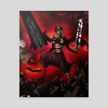 Demon Asta  - Canvas by Mally Swavez