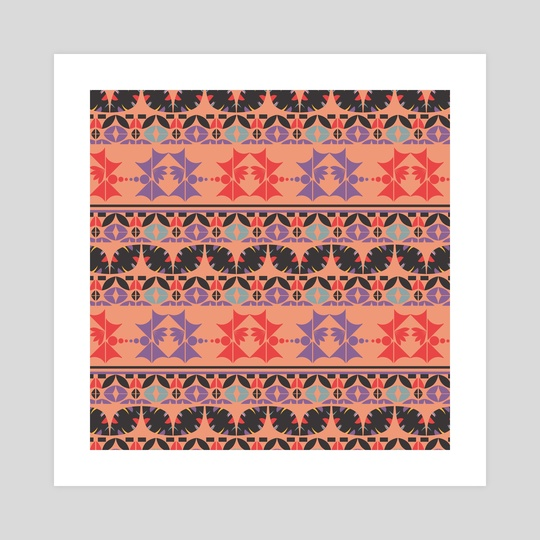 Ethnic pattern 27 by Luiza Kozich