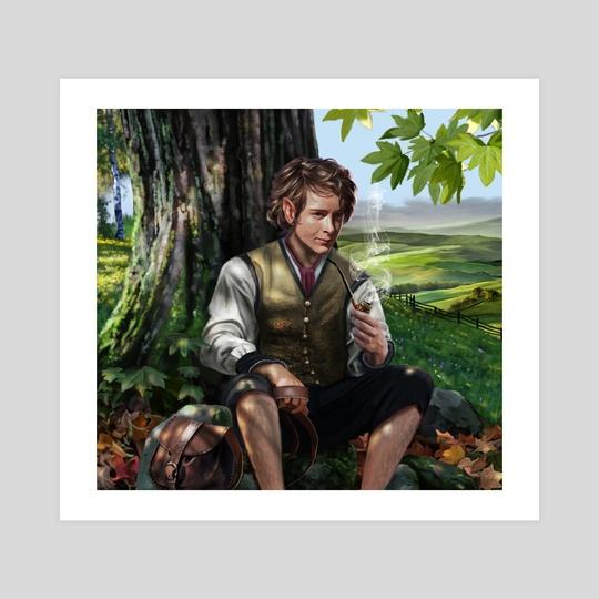 The young Bilbo by Sara Morello