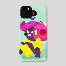 Bomsy Tricera - Phone Case by Jenn So