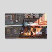Food Stand - Acrylic by Donglu Yu