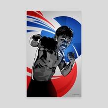 Manny Pacquiao - Canvas by Nikita Abakumov
