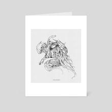 Jump - Art Card by The Boltzmann Fly