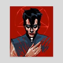 Bloody Mary II - Canvas by Feu
