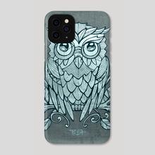 Owl illustration - Phone Case by Bernardo Ramonfaur