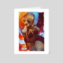 Twinrova - Art Card by elufae