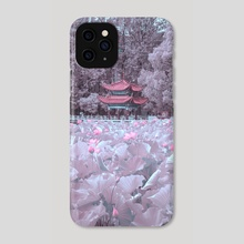 Sci-fi Neon Pink X Ancient Chinese style - Phone Case by w.vv.vv