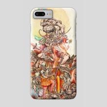 Raising la Mama Grande - Phone Case by Osvaldo Ramirez Castillo