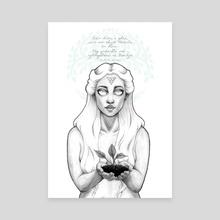 Bain Diom, A Ghra...  - Canvas by Ciaraíoch